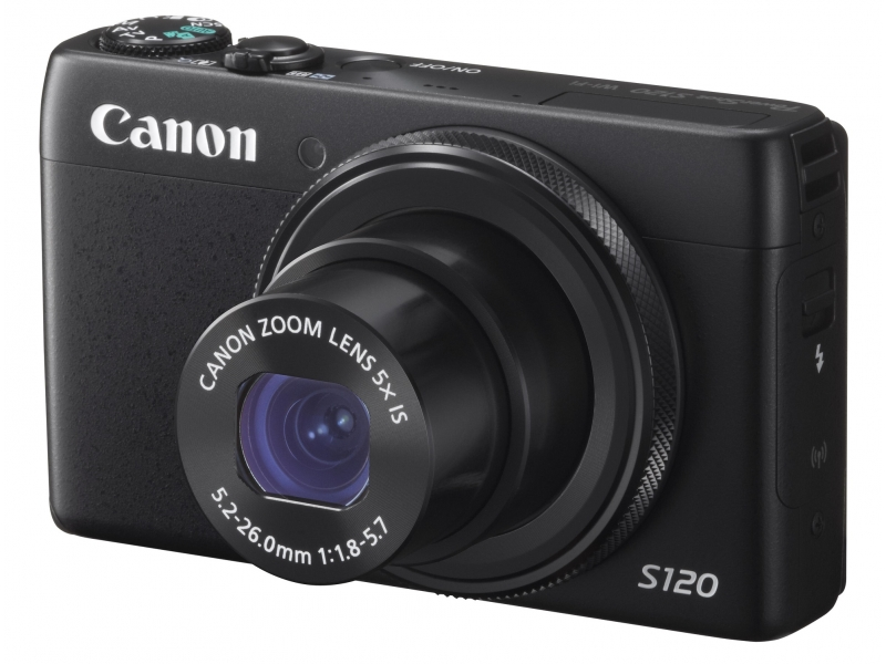 Canon PowerShot S120 12.1 MP CMOS Digital Camera with 5x Optical Zoom and 1080p Full-HD Video купить за 28,609руб на Rudeals.com