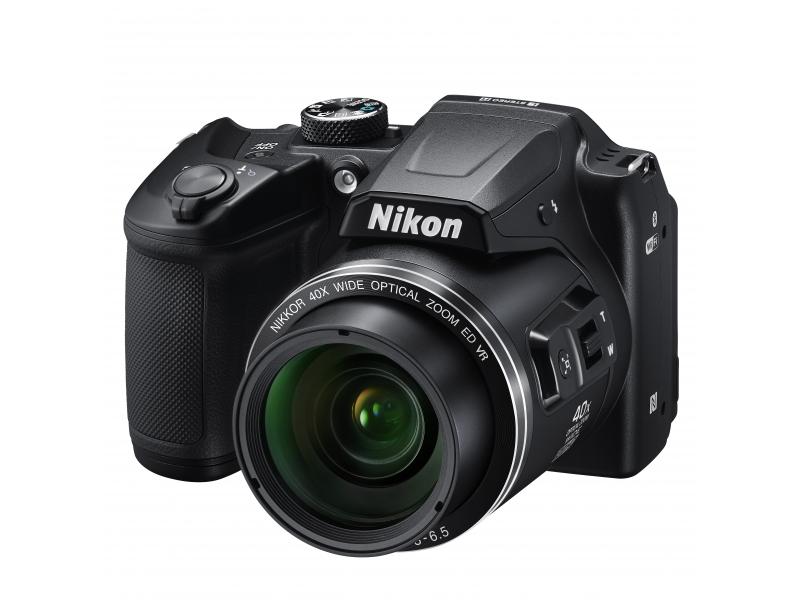 NIKON CoolPix B500 fekete (1 év)