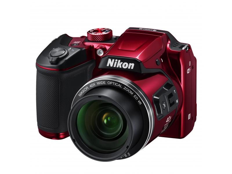 NIKON CoolPix B500 vörös (1 év)