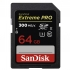 SANDISK SD-XC Extreme Pro (R/W: 300/260MB/s) 64 GB Class 10 UHS-II
