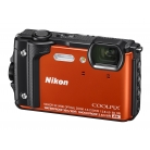 CoolPix W300 narancs (Holiday kit)