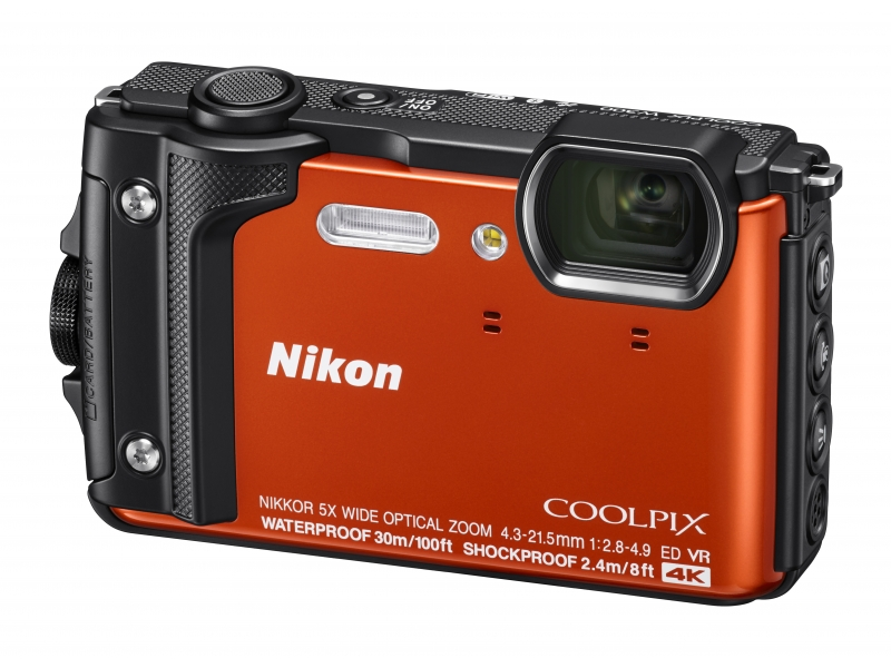 NIKON CoolPix W300 narancs (Holiday kit)