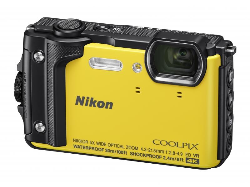 NIKON CoolPix W300 sárga (Holiday kit)