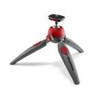 2 section mini tripod red
