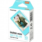 COLORFILM INSTAX MINI GLOSSY (10/PK) Blue Frame