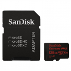 microSD-HC Extreme Pro 128 GB (R:100, W: 90 MB/s, ), V30+Rescue