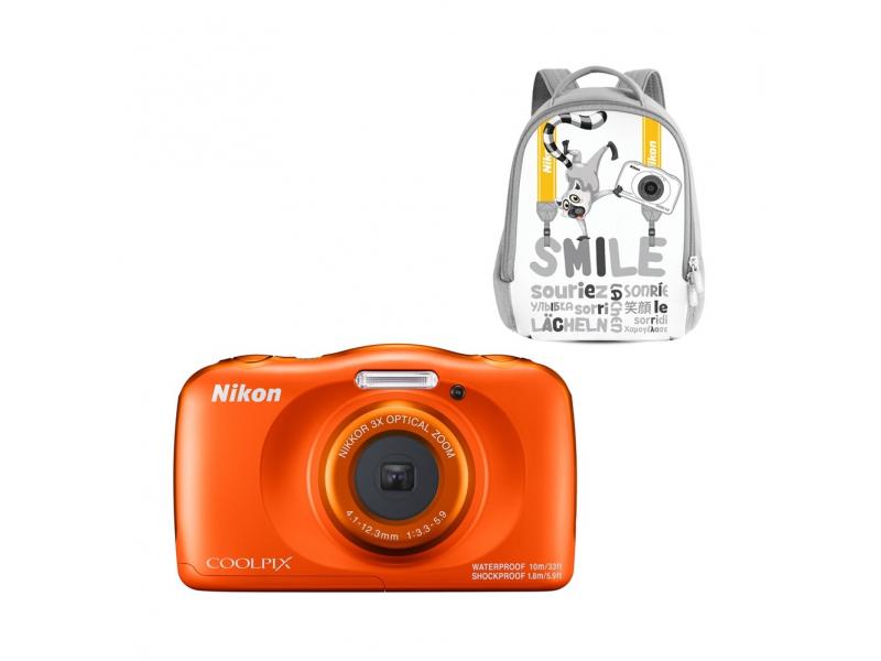 NIKON CoolPix W150 narancs (SMILE hátizsákkal)