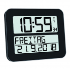 60.4512.02 Digital Radio-Controlled Clock TIMELINE MAX