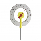 12.2055.10 Analogue Design Garden Thermometer LOLLIPOP