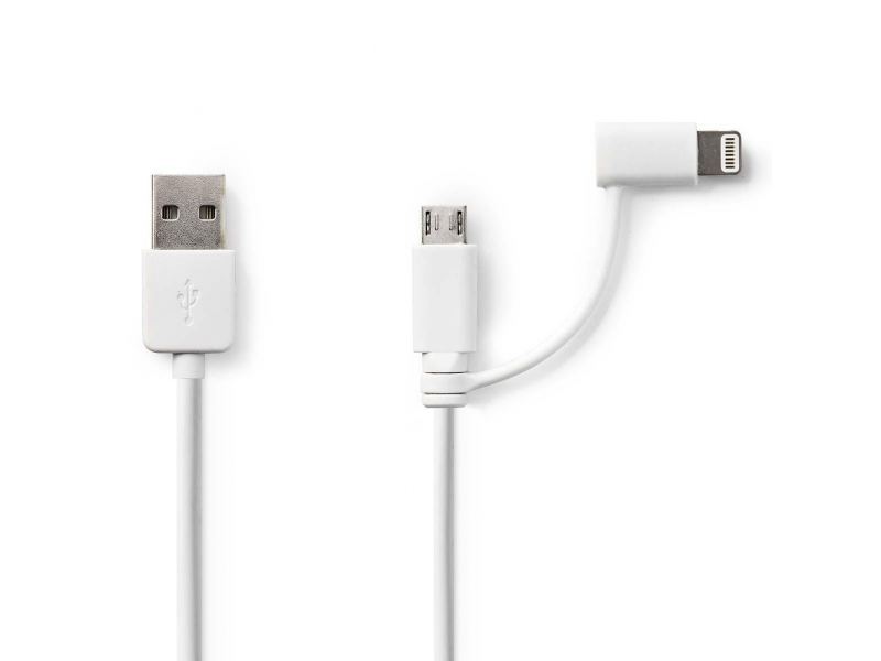 iPhone/iPad/iPod USB-kábel, 1 méter